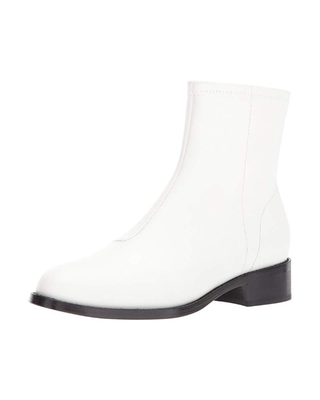0ce4eea41 Opening Ceremony Dani Flat Boot (white) Boots in White - Save 55% - Lyst