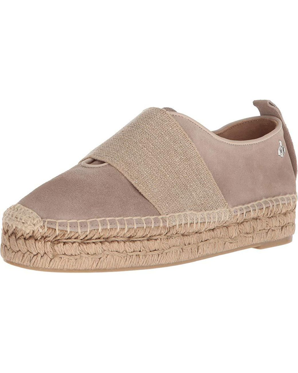 14e15a2ee Rag & Bone Nina Espadrille (smoke Suede) Shoes in Brown - Save 43% - Lyst
