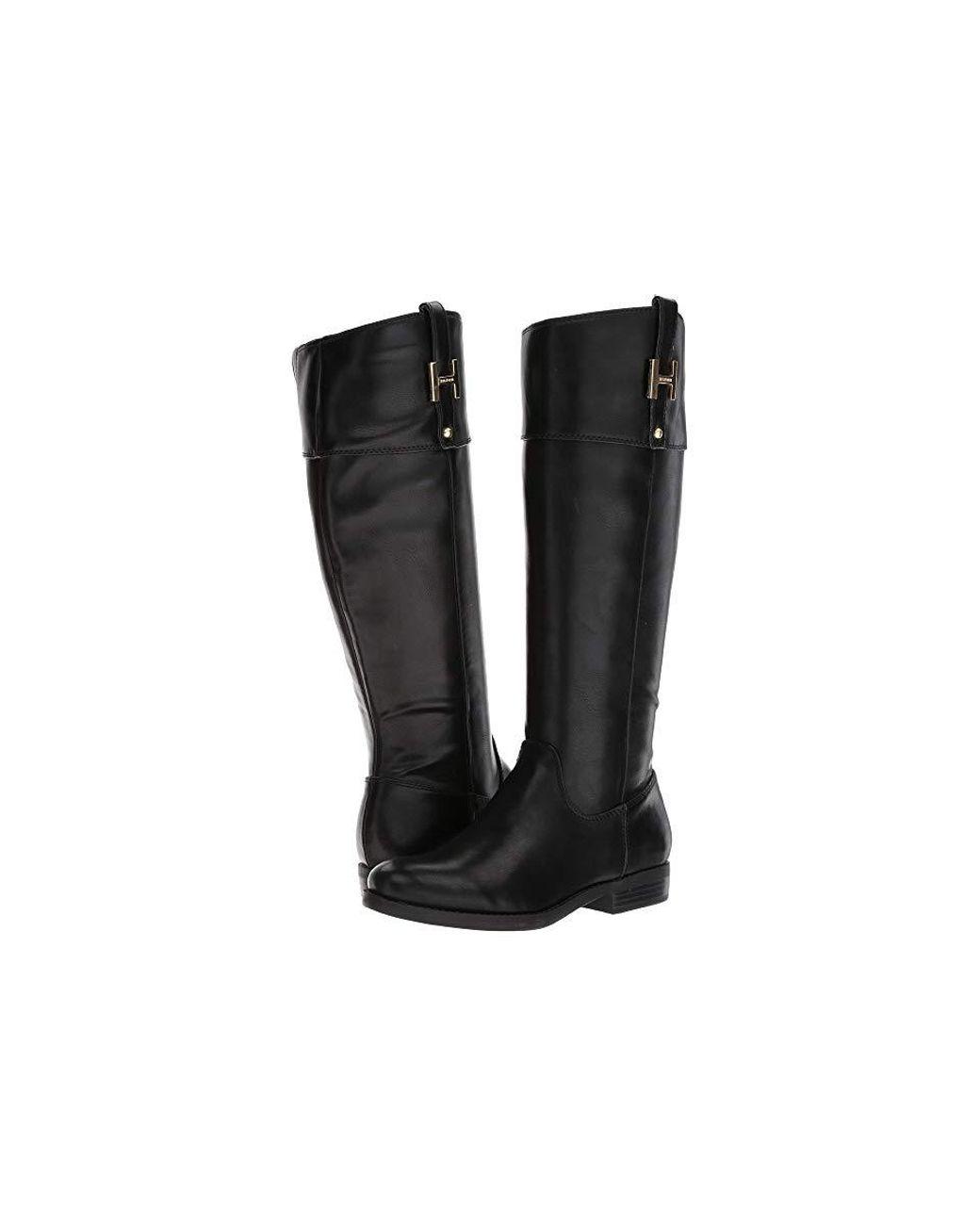 fb648d4f Tommy Hilfiger Shyenne Equestrian Boot in Black - Save 48% - Lyst