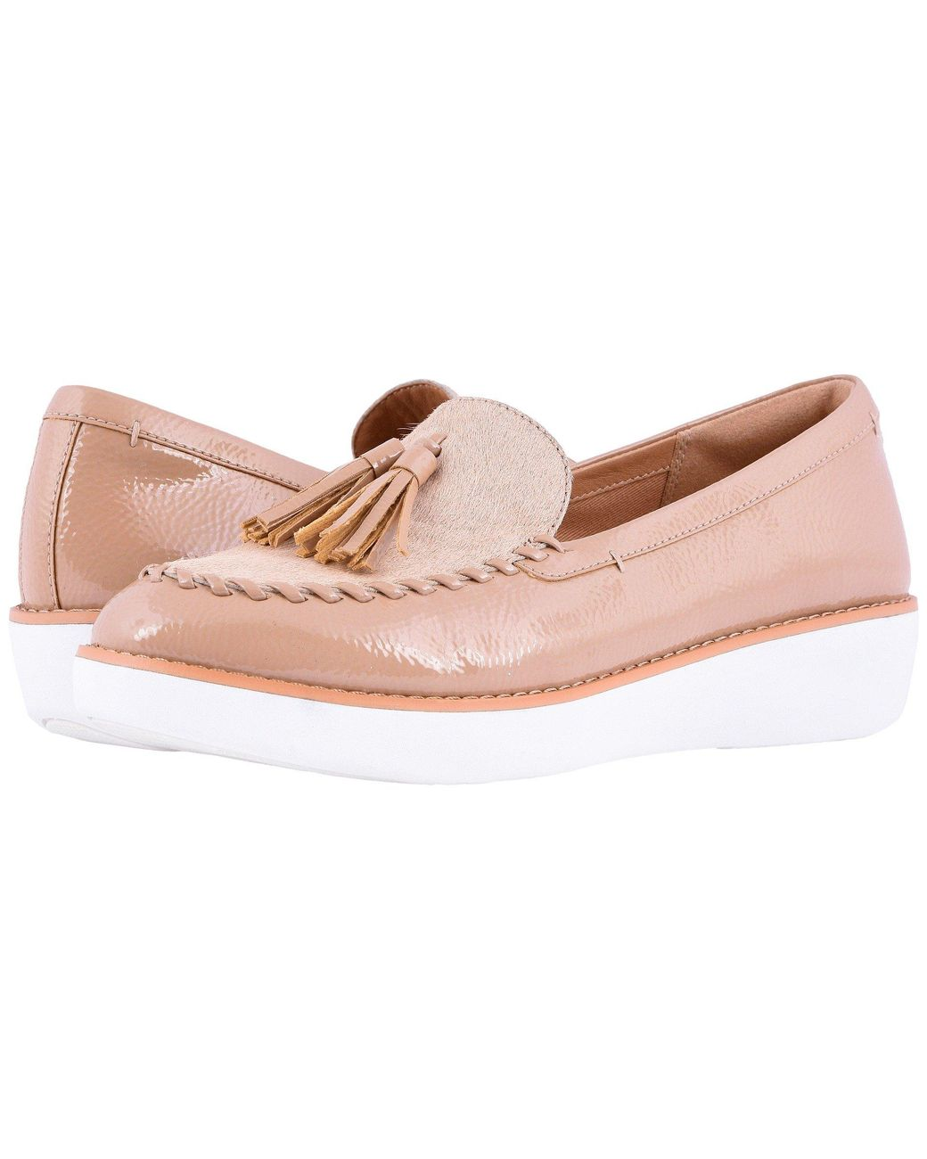 e225aaac5ea Lyst - Fitflop Petrina Faux Pony Moccasin in Pink - Save 21%