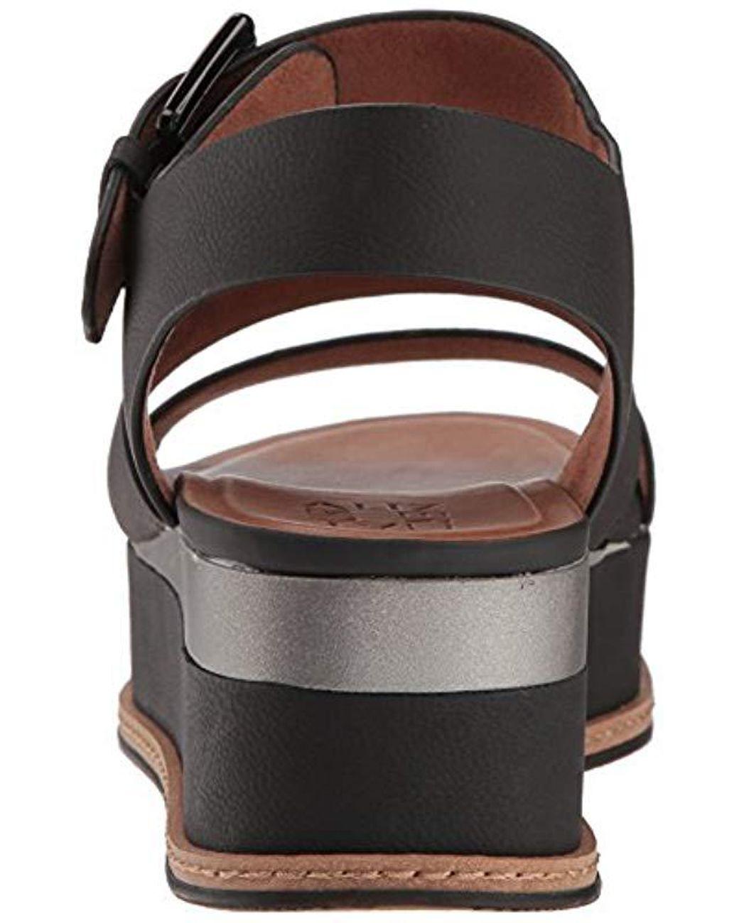 41317e8ab6e Lyst - Naturalizer Billie Espadrille Wedge Sandal in Black - Save 40%