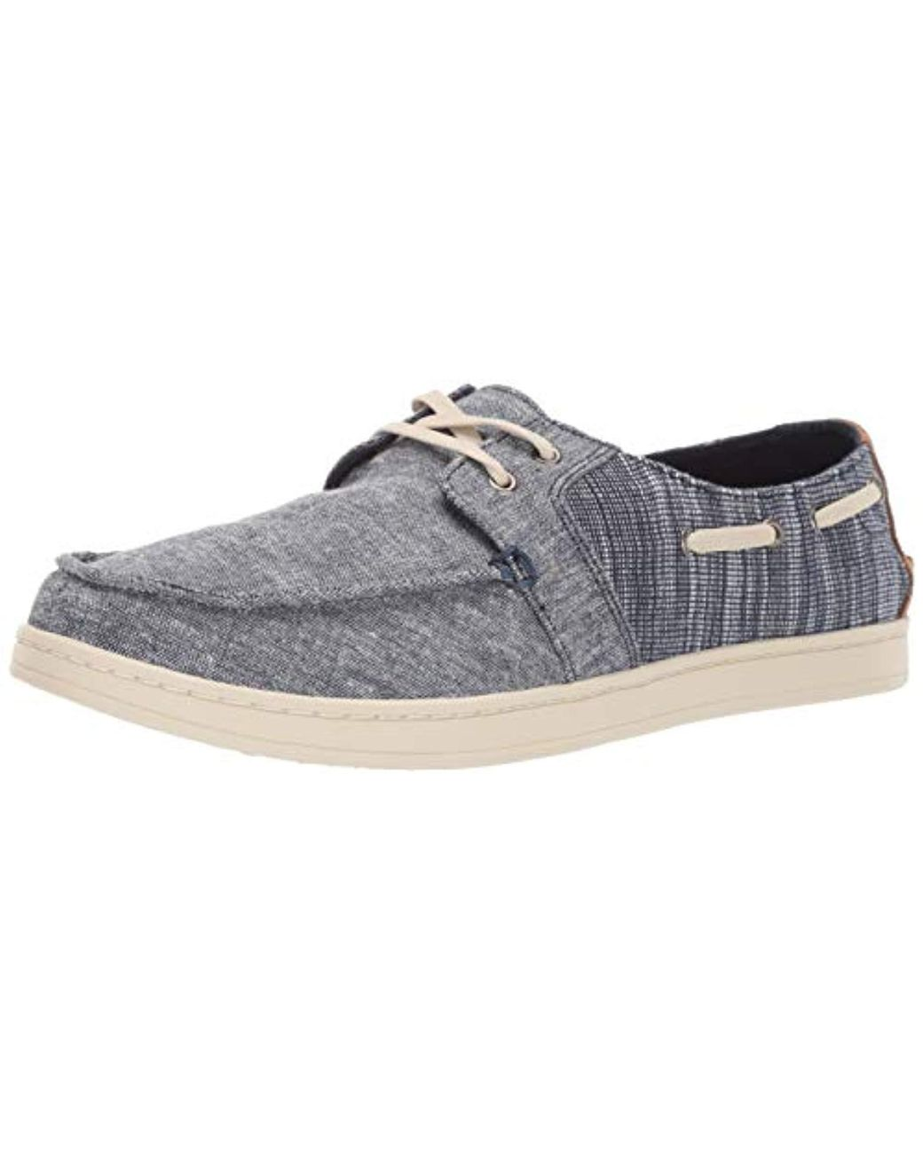 4ebf69c814d Lyst - TOMS Culver Boat Shoe in Blue for Men - Save 56%