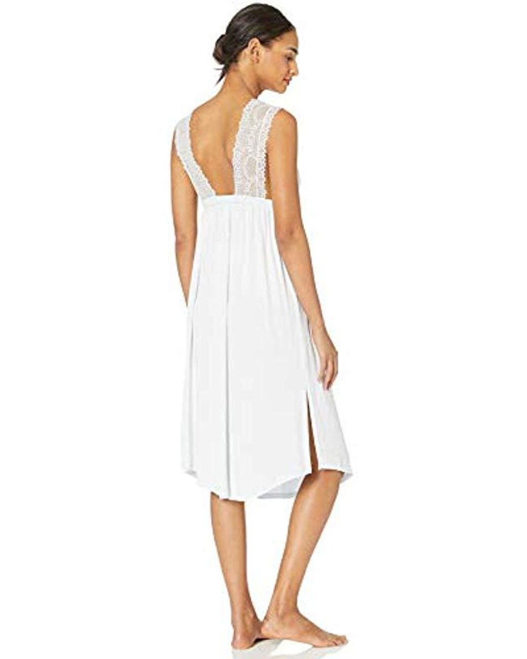 Sleeveless Sleep Dress Alexander Del Rossa Womens 100/% Cotton Lawn Nightgown