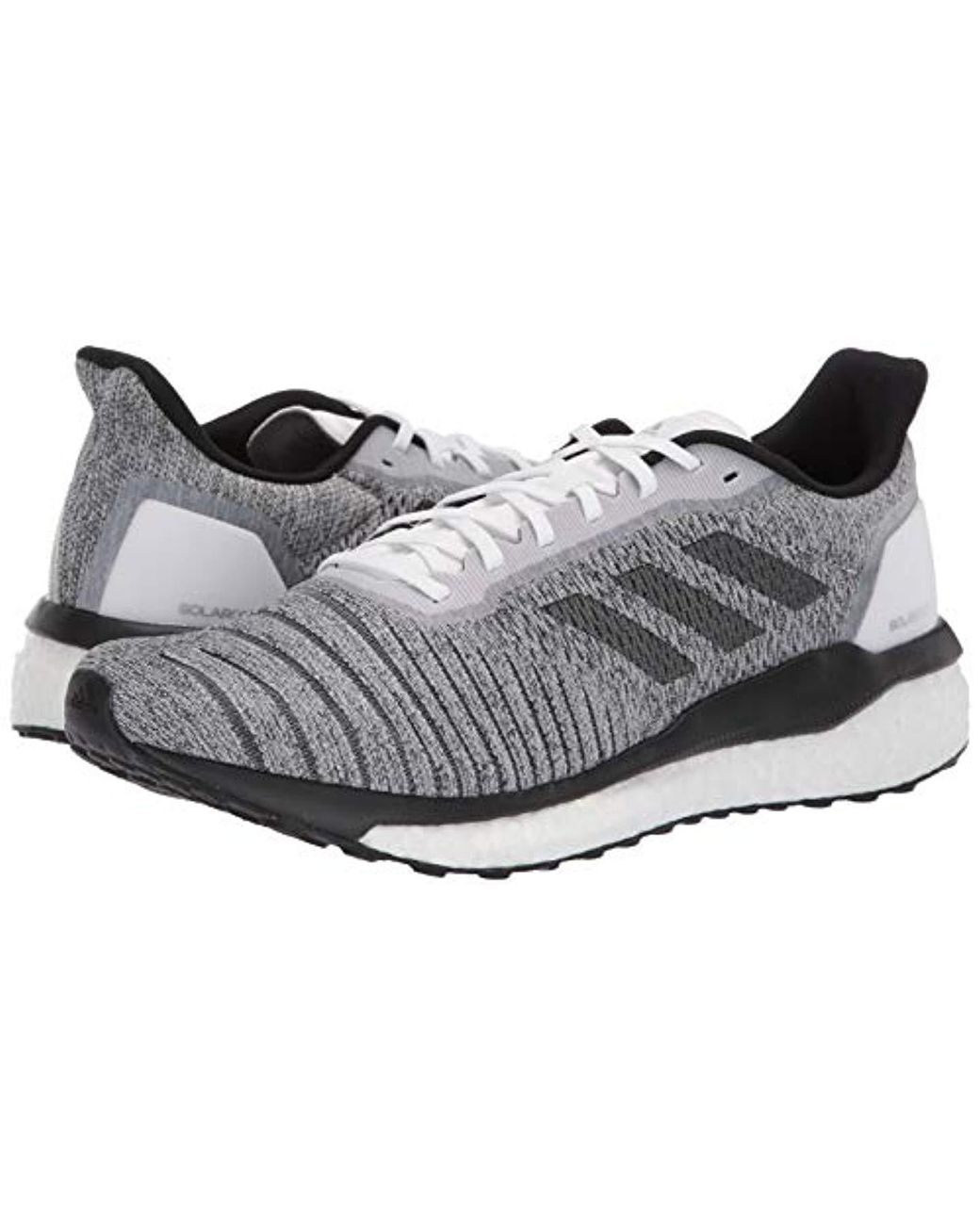 04a21f08ce adidas Solar Drive, White/black/grey, 7.5 M Us in Gray for Men - Lyst