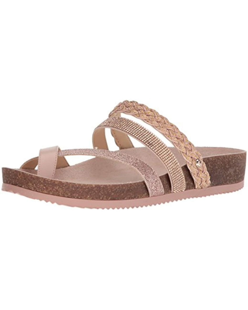761910dea760 Lyst - Circus by Sam Edelman Oakley Slide Sandal in Pink - Save 80%