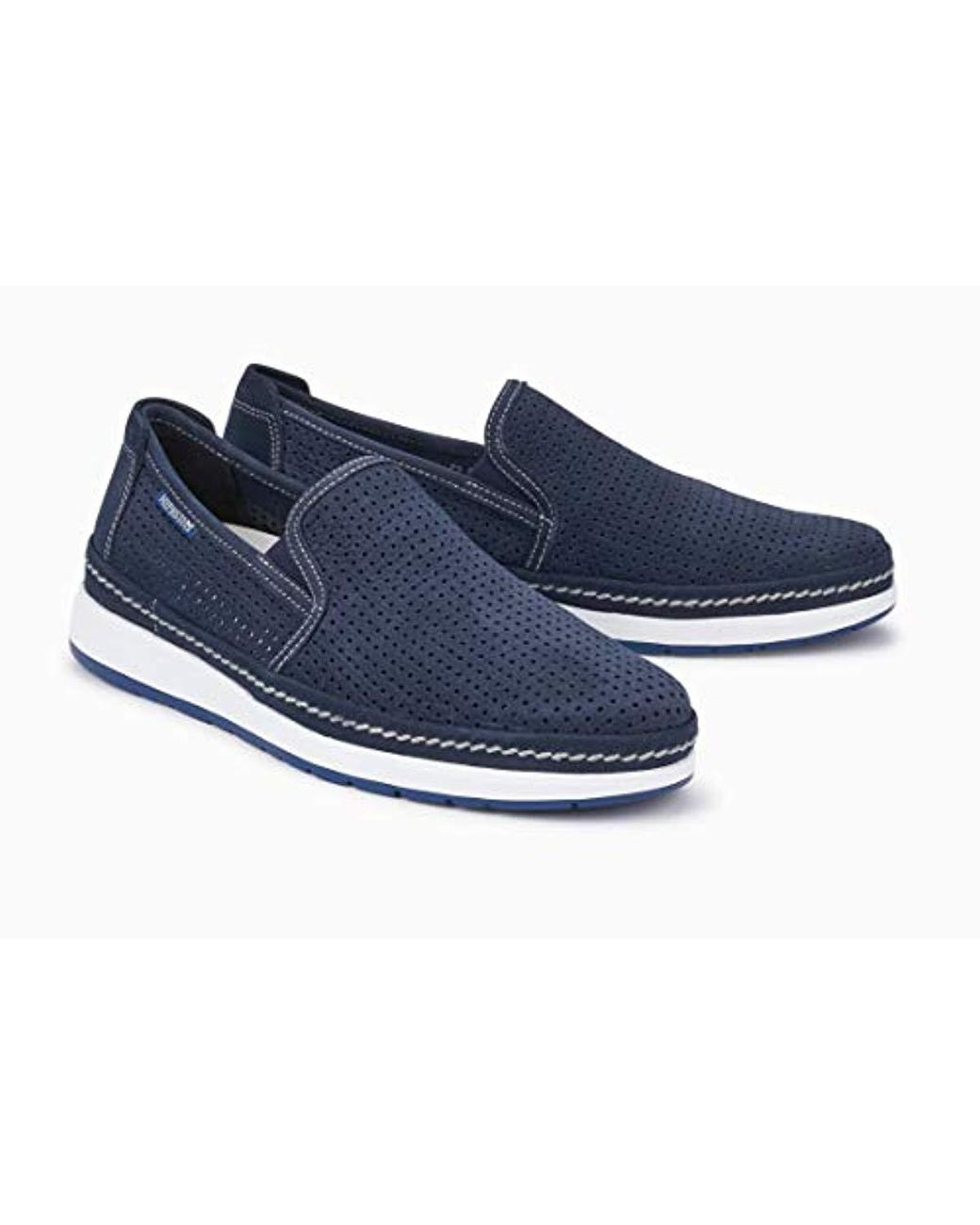 6a2679d02e Mephisto Hadrian Perf Sneaker in Blue for Men - Lyst