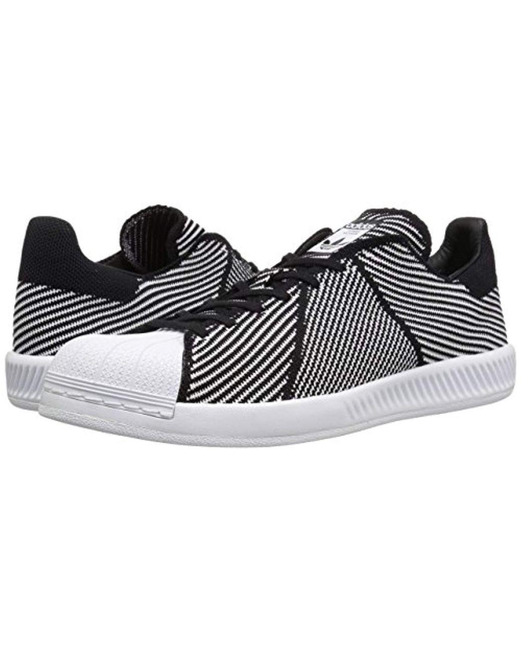 cbe88f675 Lyst - adidas Originals Superstar Bounce Pk Fashion Sneaker in Black for Men