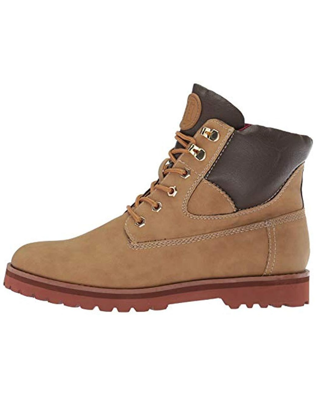 8b97199fe Lyst - Tommy Hilfiger Poma Combat Boot in Natural
