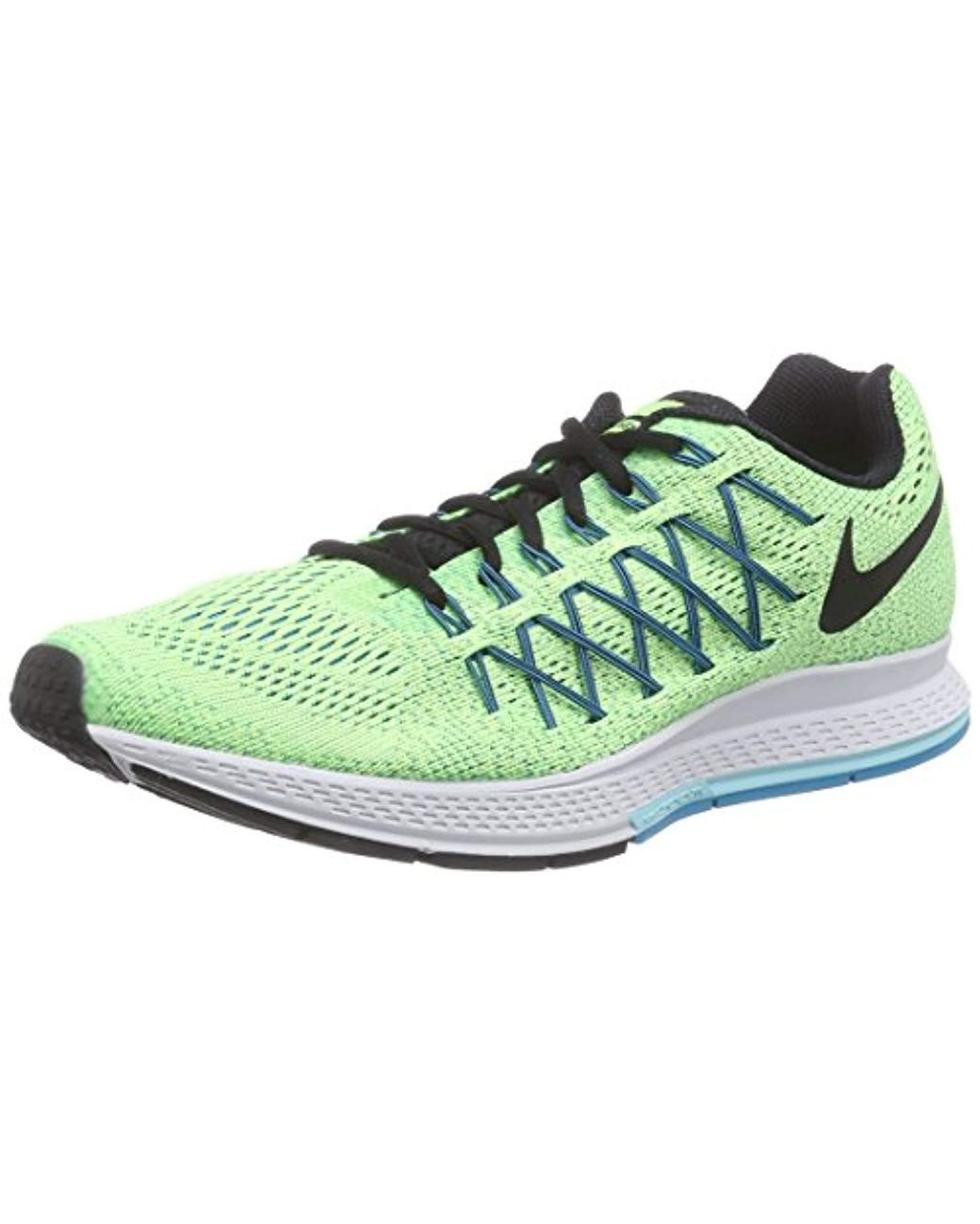 online store f9da7 75314 Nike. Men s Green  s Air Zoom Pegasus 32 Running Shoes