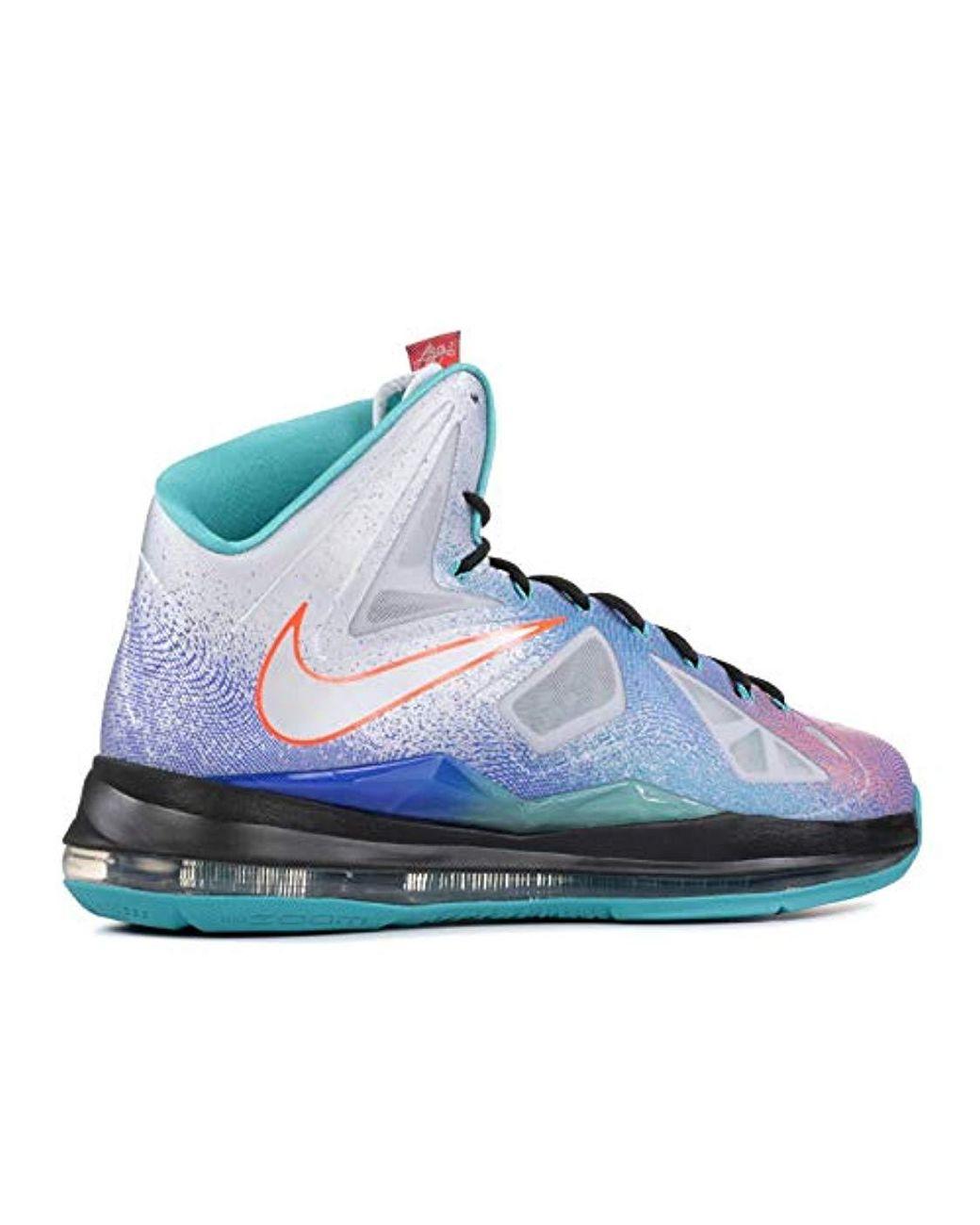122b72306bffb Nike Lebron X S Hi Top Basketball Trainers 541100 Sneakers Shoes ...