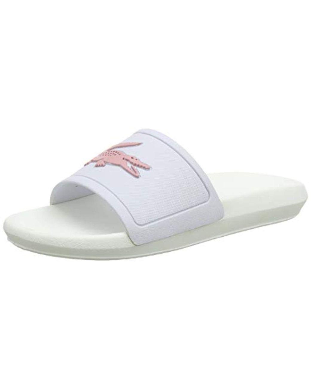 9a4914068 Lacoste. Women s  s Croco Slide 119 3 Cfa Open Toe Sandals