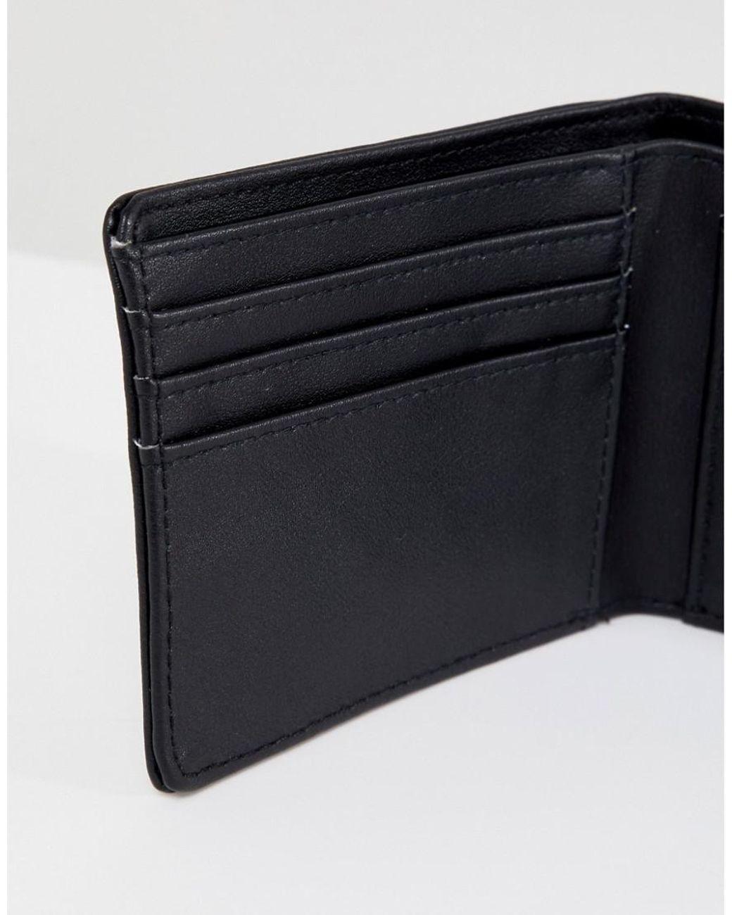 a3252e91abfb99 Vans Drop V Wallet In Black Vn0a31j8blk1 in Black for Men - Lyst