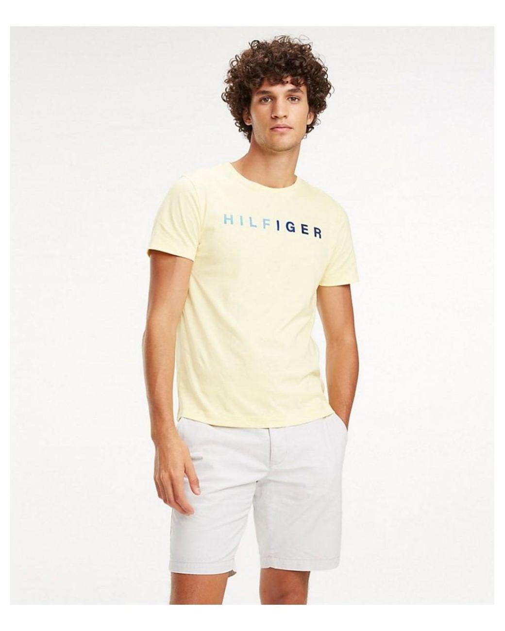 t shirt tommy hilfiger homme universal logo