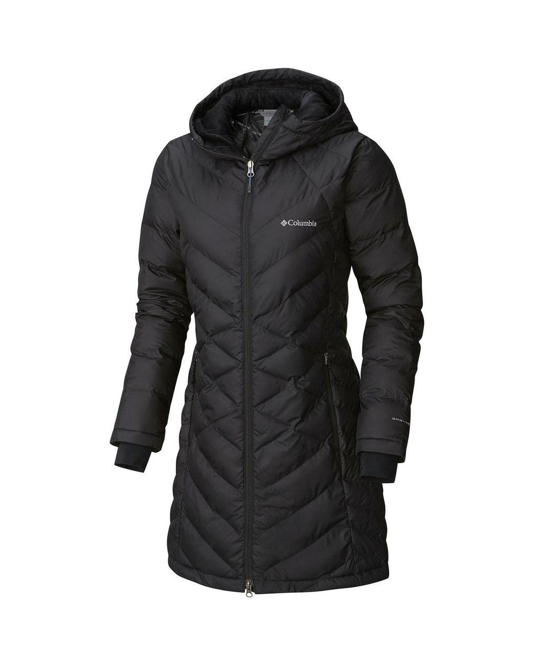 8fc470fb9b9 Columbia Heavenly Long Hooded Jacket in Black - Save 35% - Lyst