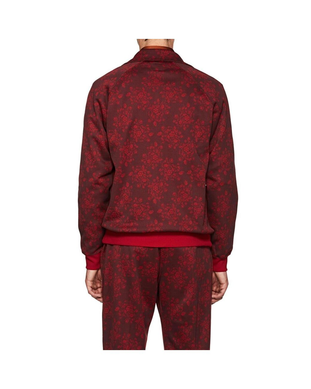 2590375551e5ba Needles Floral Jersey Track Jacket in Red for Men - Save 74% - Lyst