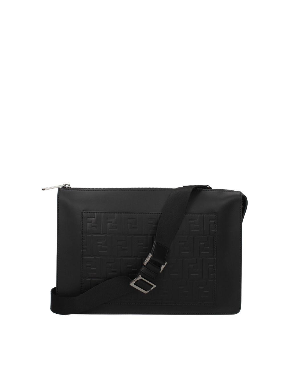 047efb188eb Fendi Crossbody Bag Men Black in Black for Men - Lyst