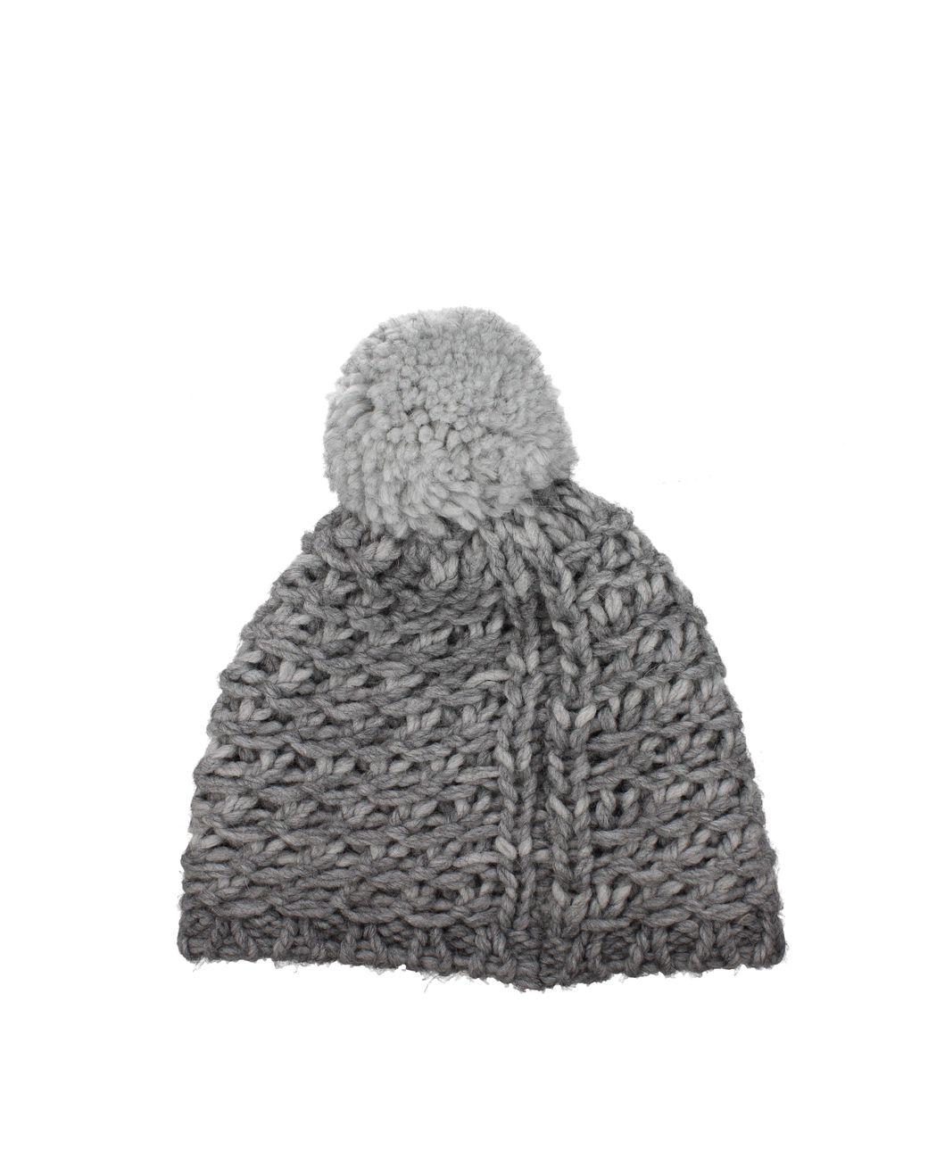 7f85b0aa7198b Lyst - UGG Hats Yarn Pom Hat Women Gray in Gray