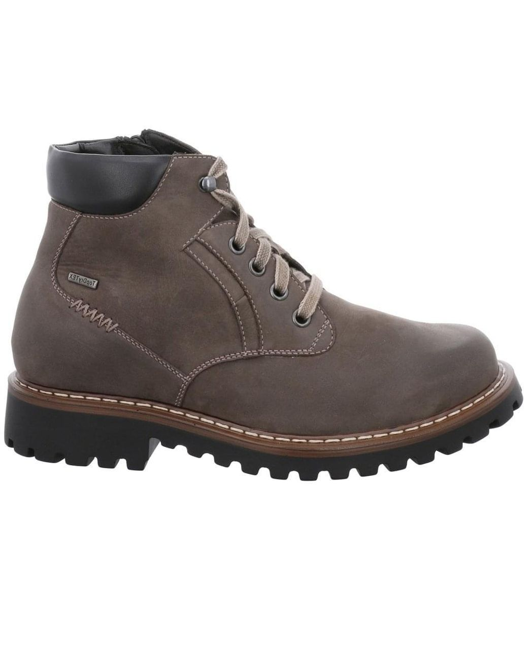 eac123283d04f Josef Seibel Chance 39 Mens Waterproof Lace Up Hiker Ankle Boots in Brown  for Men - Lyst