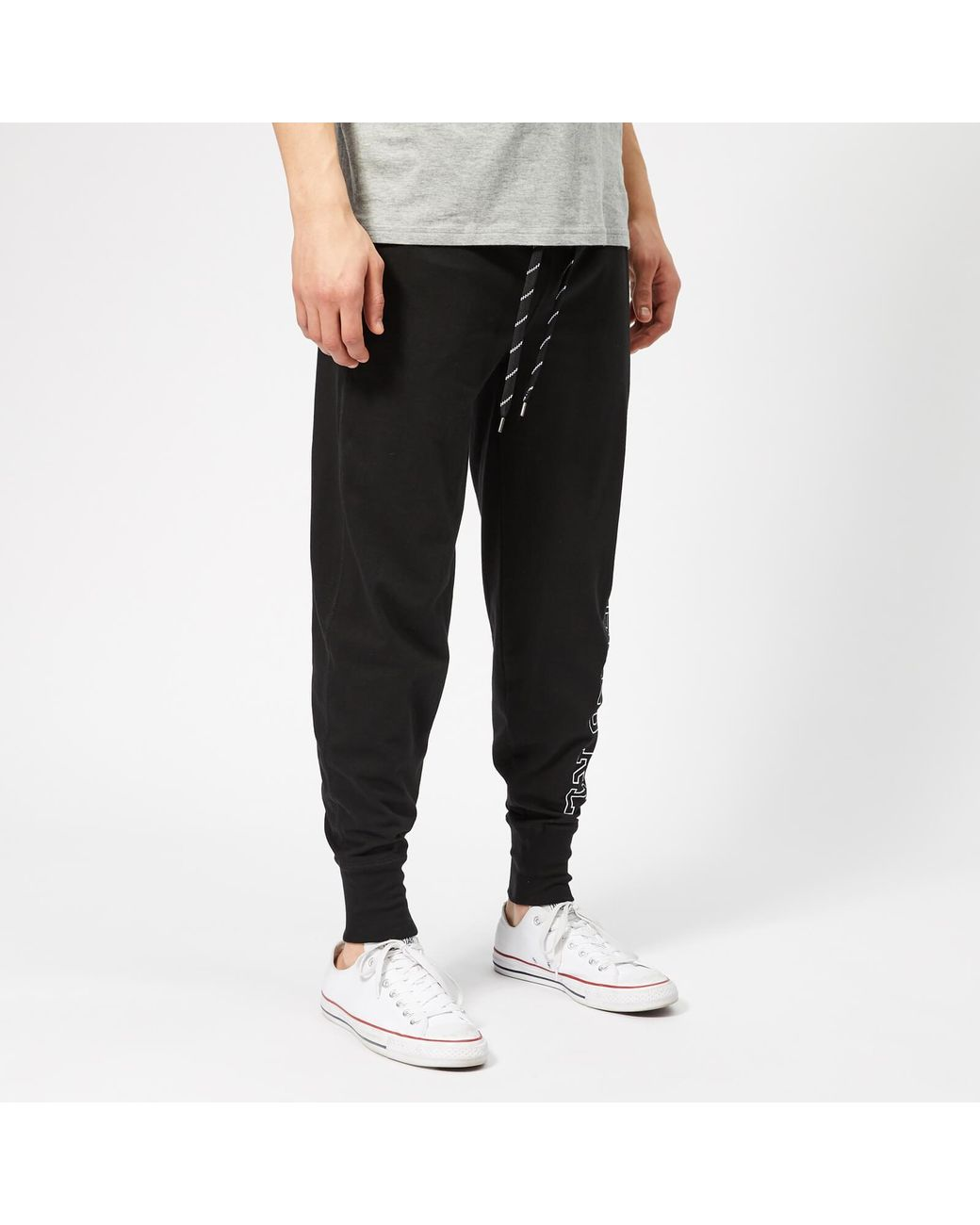 247cac79159f Polo Ralph Lauren Cotton Joggers in Black for Men - Lyst