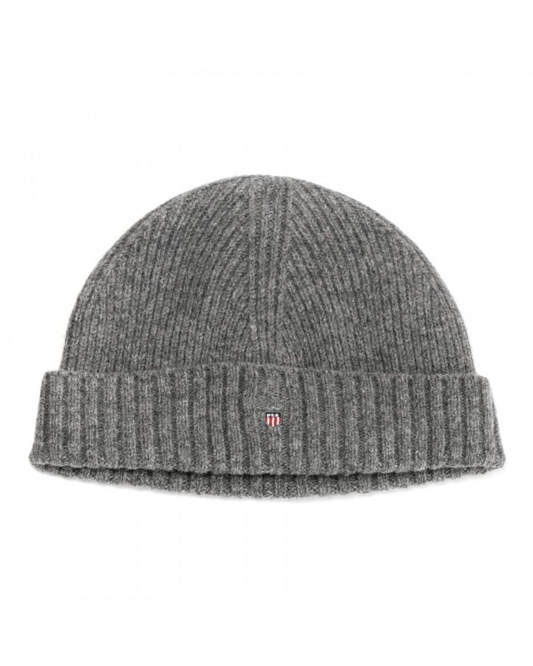 c806aa42373 GANT Wool Lined Mens Beanie in Gray for Men - Save 40% - Lyst