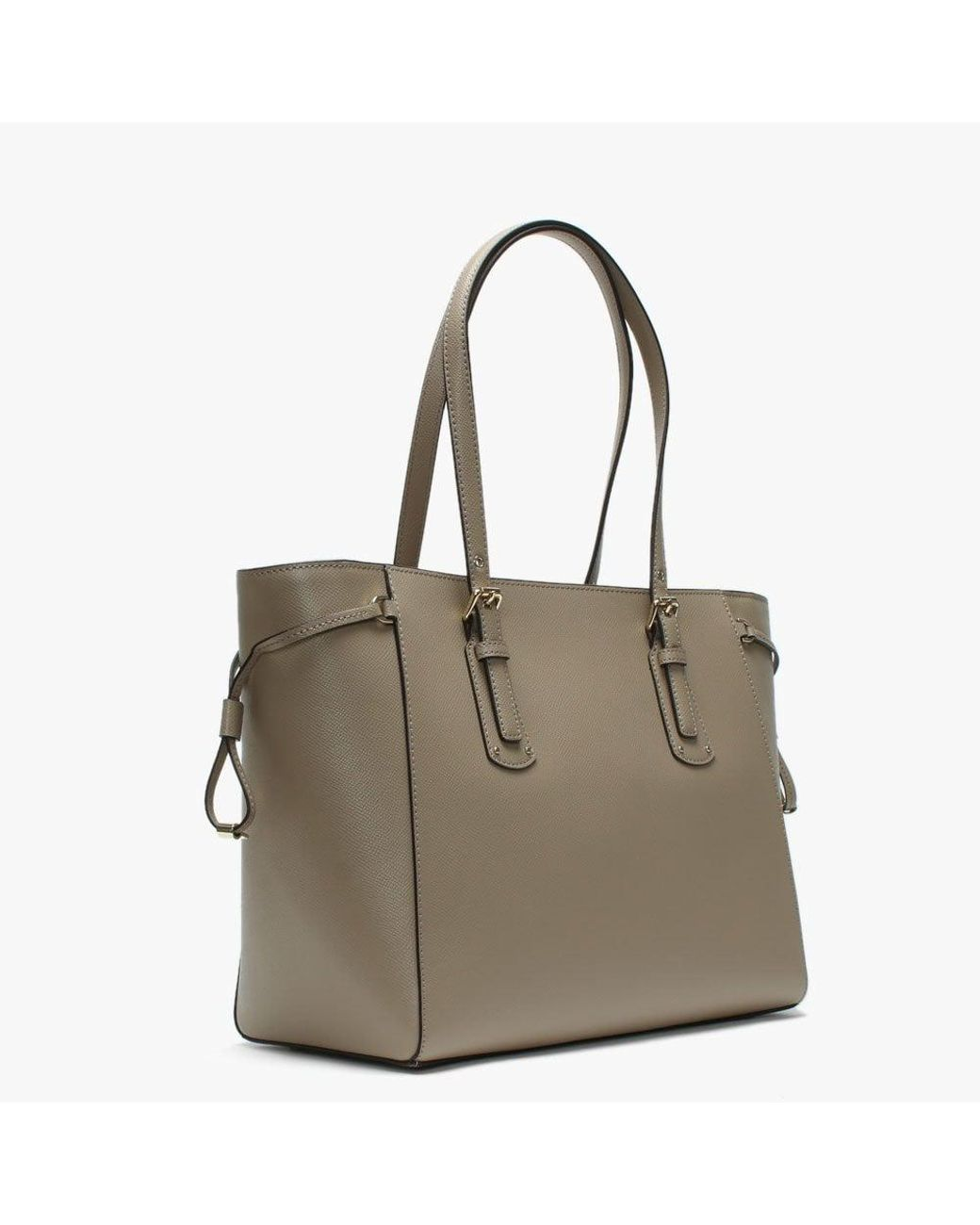 0945fc1e5f60 Michael Kors Voyager Truffle Saffiano Leather Tote Bag - Save 33% - Lyst