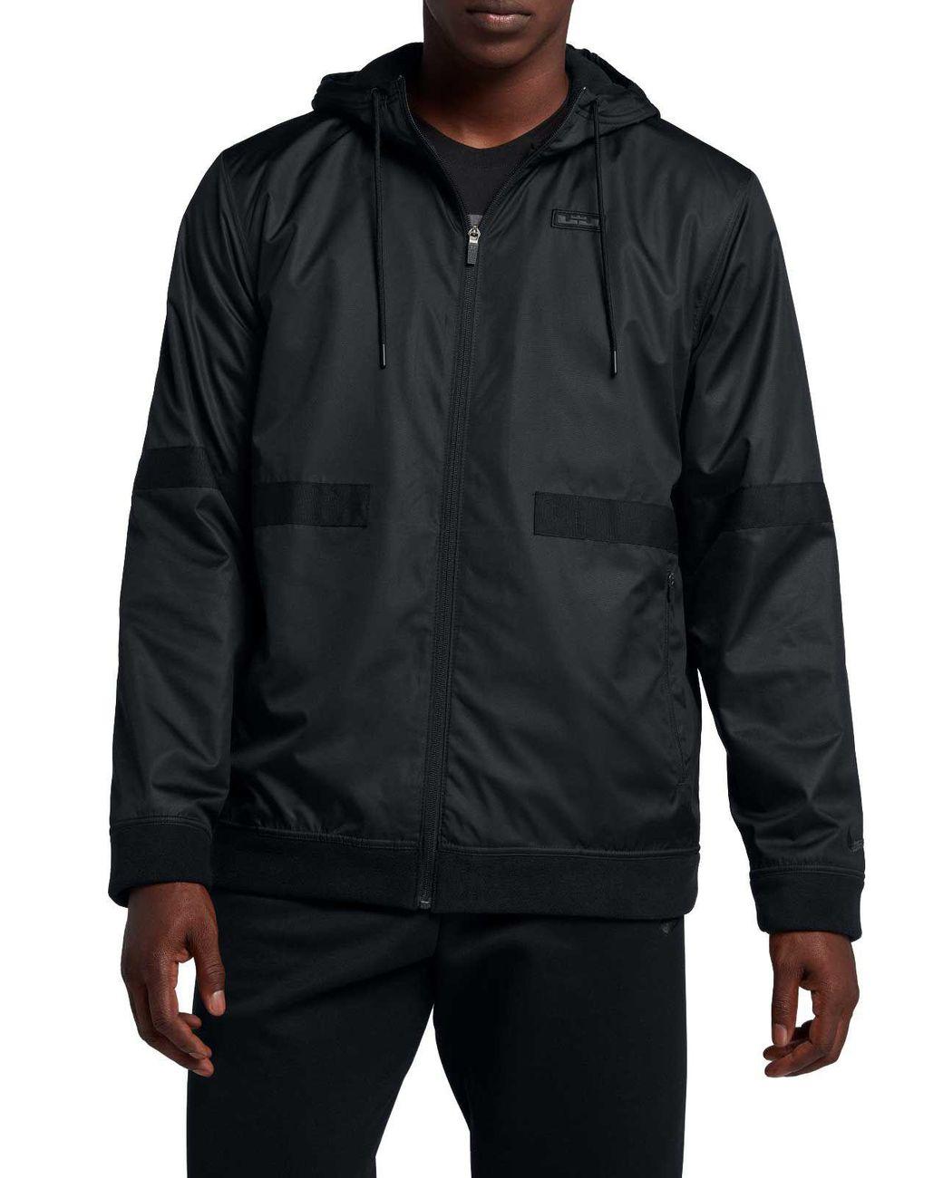 a797b4cfe517 Lyst - Nike Lebron Streetwear Jacket in Black for Men