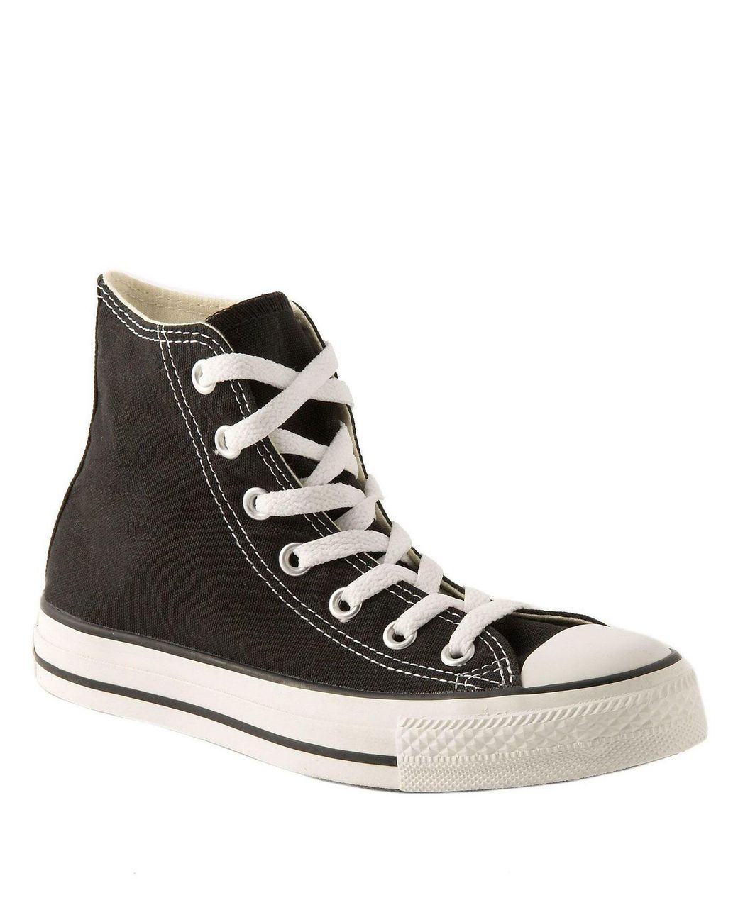 e55a438aecfd Converse Women s Chuck Taylor All Star Hi-top Sneakers in Black - Lyst