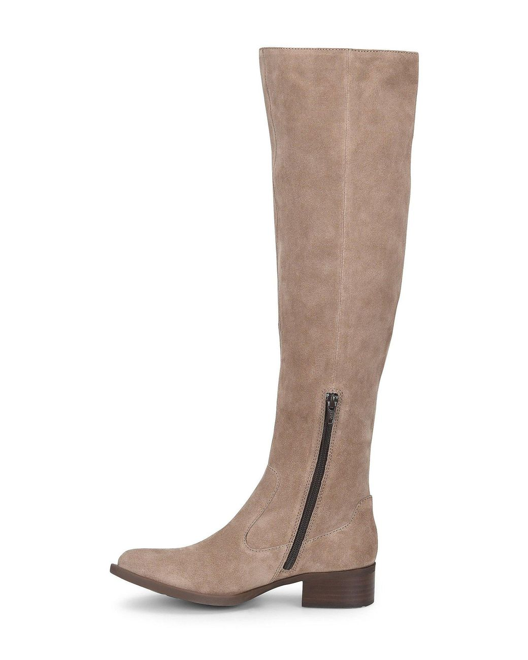 b7138b1162 Born Cricket Tall Suede Block Heel Boots in Brown - Save 58% - Lyst