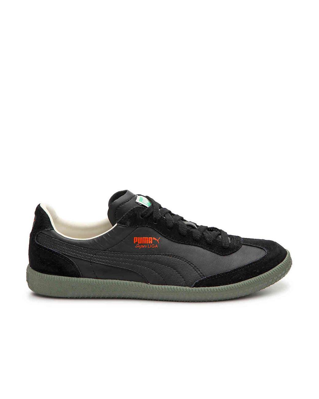huge discount 78a7b 1c625 PUMA Super Liga Og Retro Sneaker in Black for Men - Lyst