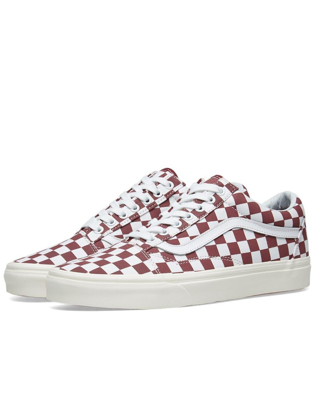 f1cd9cecab Lyst - Vans Old Skool Checkerboard for Men - Save 38%