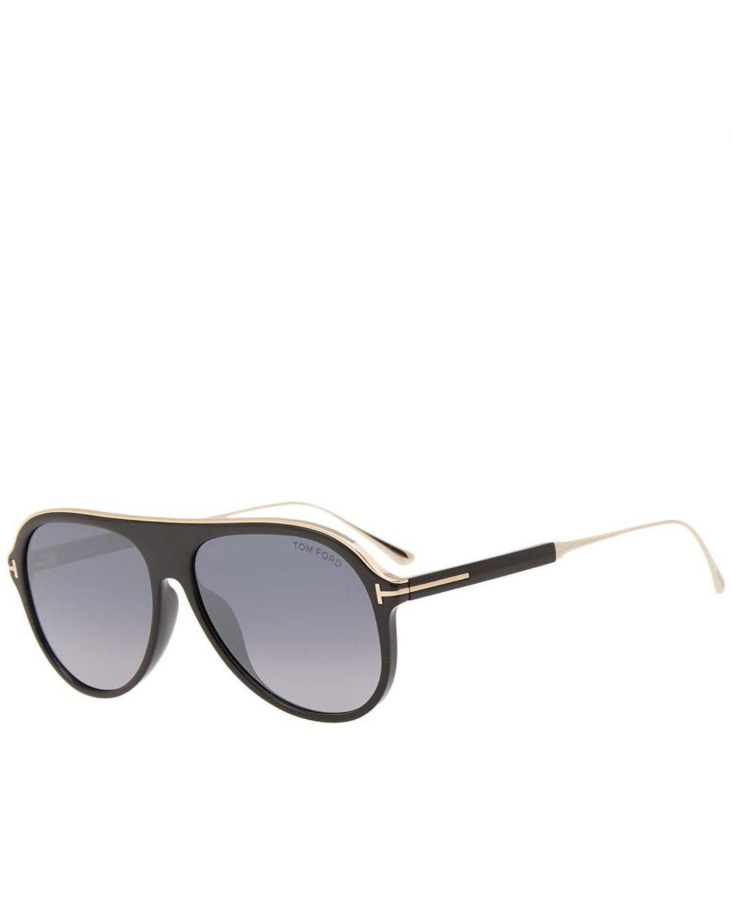 ca317450b40f Lyst - Tom Ford Tom Ford Ft0624 Nicholai-02 Sunglasses in Black for Men