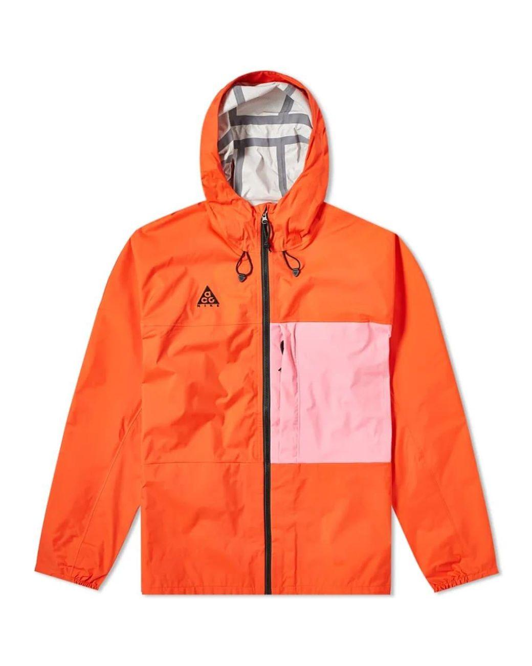 0f4cfb892 Nike Acg 2.5l Packable Jacket in Orange for Men - Lyst