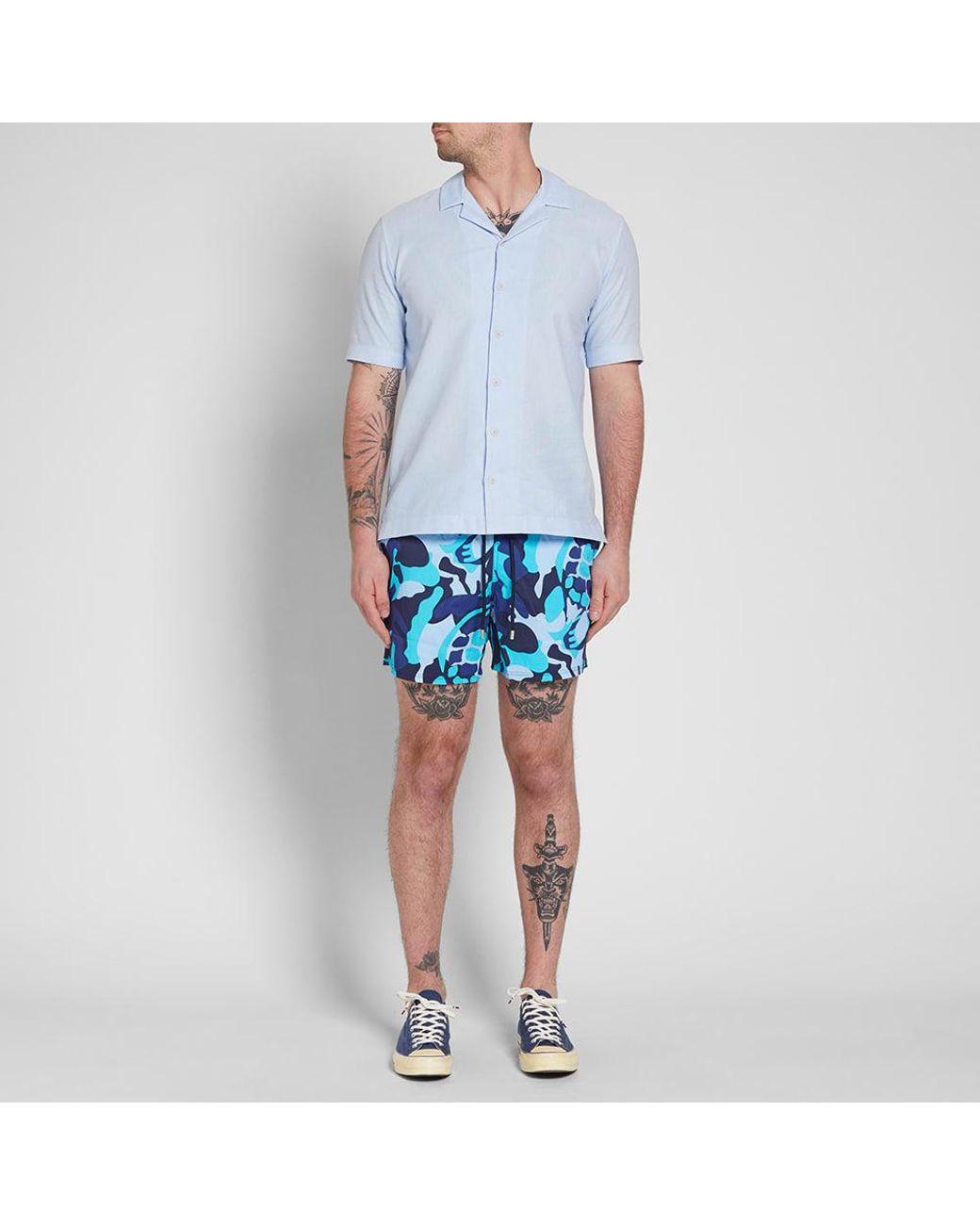e638e4d757 Vilebrequin Moorise Swim Short in Blue for Men - Save 41% - Lyst