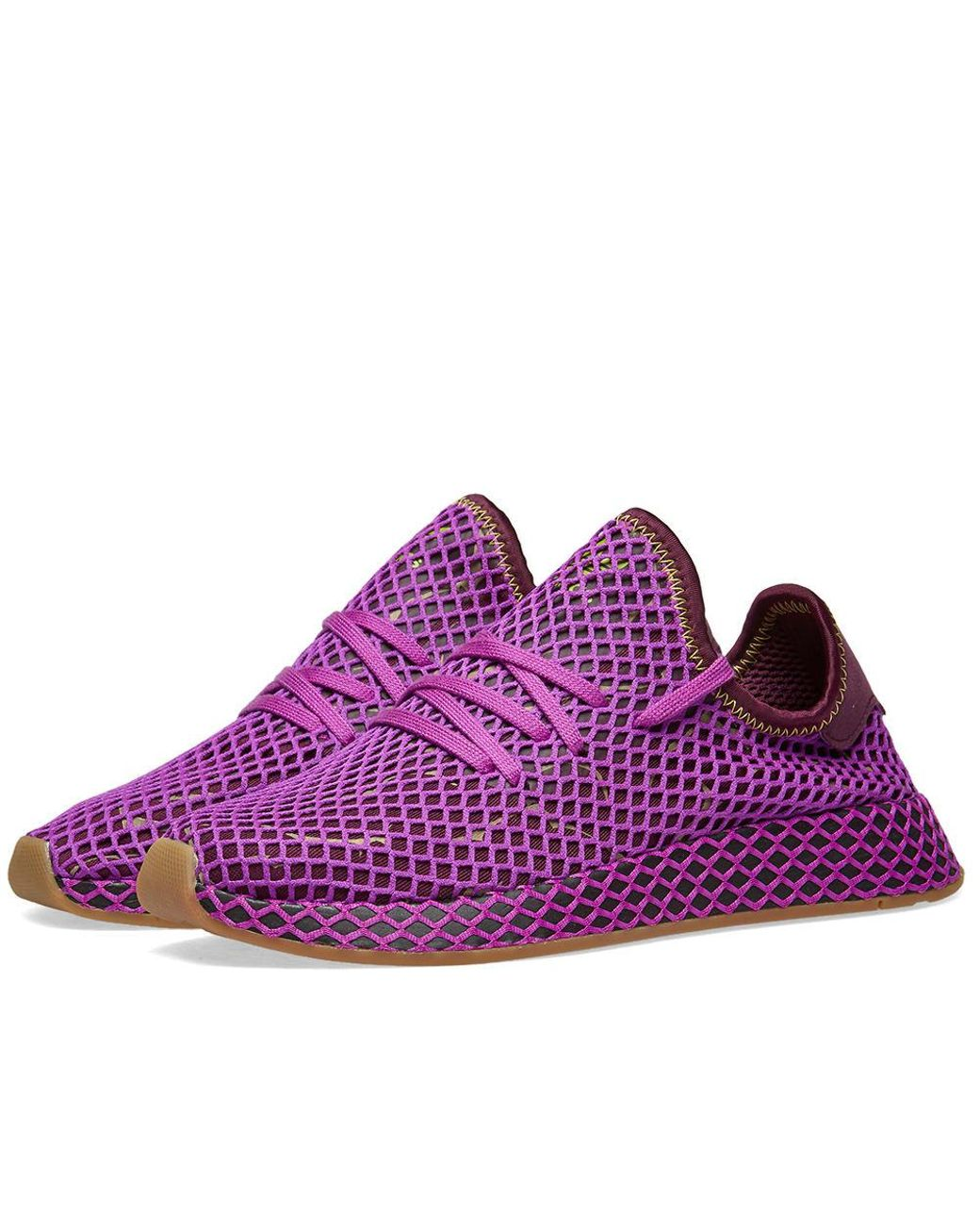 0f3ff1f2b712b Lyst - adidas X Dragon Ball Z Deerupt Runner  son Gohan  in Purple ...