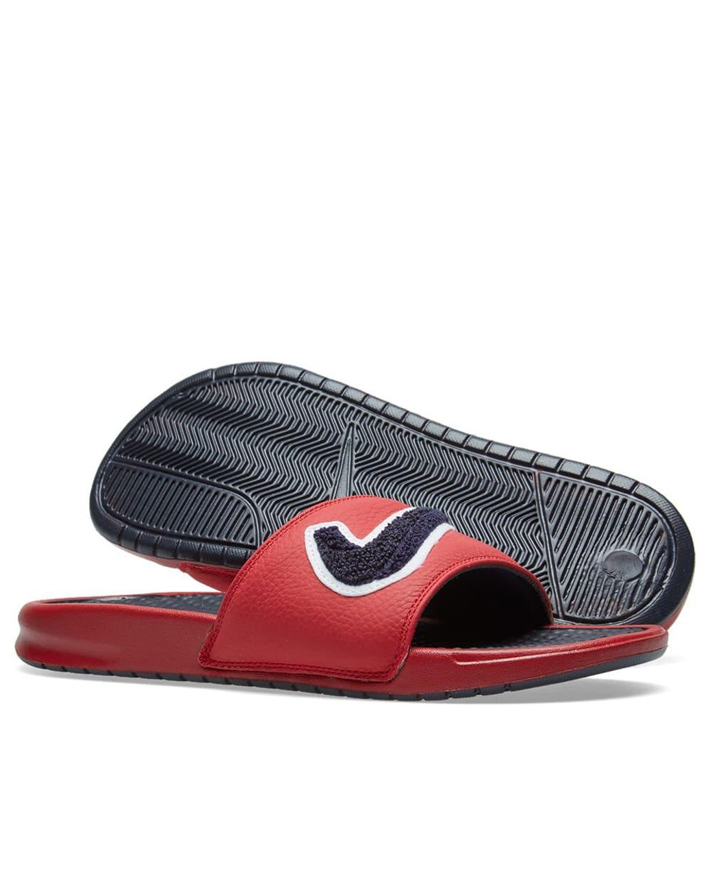 924b90dab Lyst - Nike Benassi Jdi Chenille in Red for Men