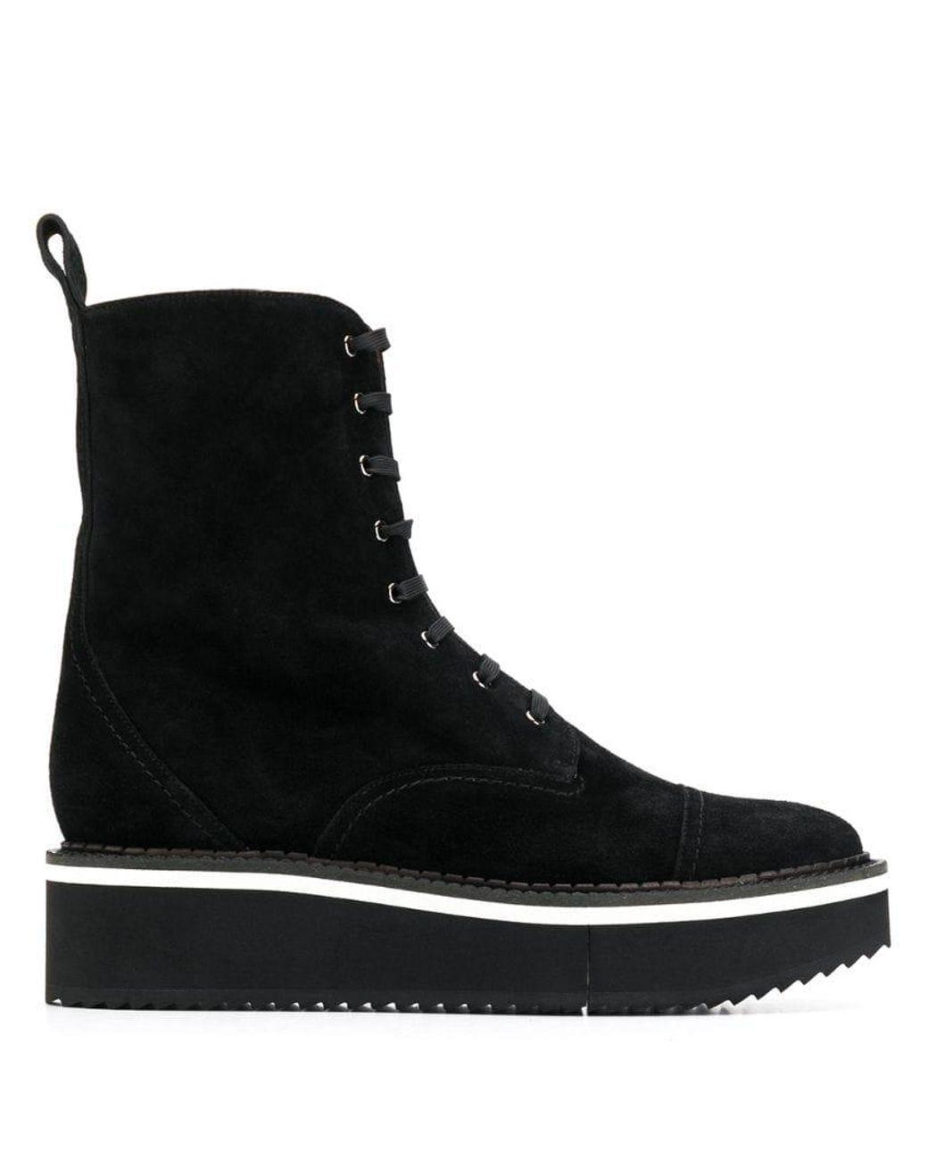701c85b0f85 Women's Black Short Platform Boots
