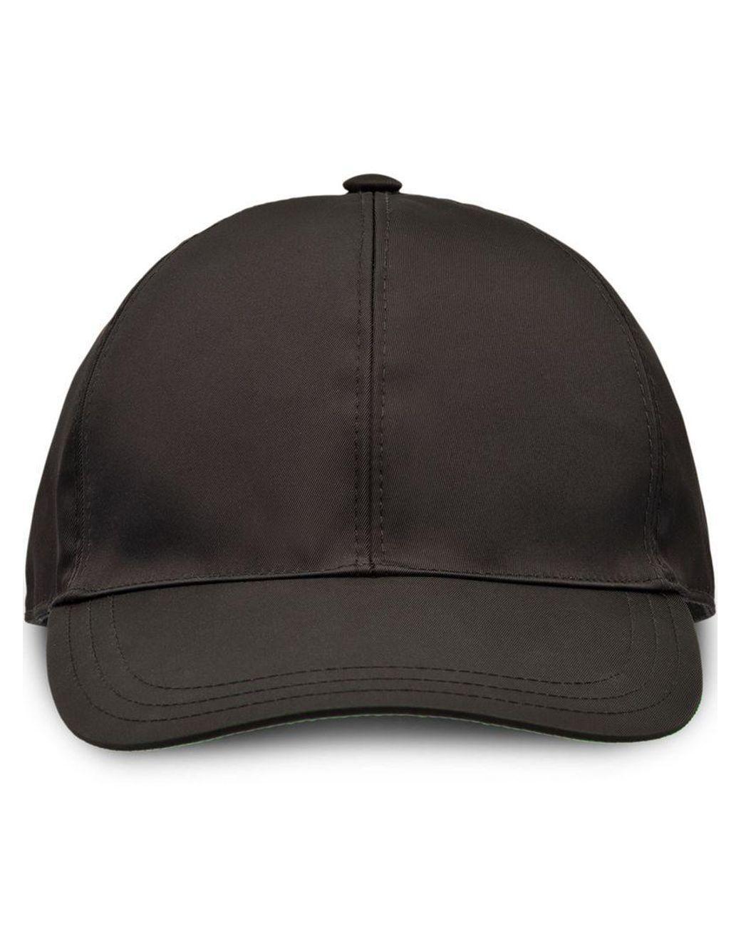 ce035c01 Prada Nylon Baseball Cap in Black for Men - Save 30% - Lyst