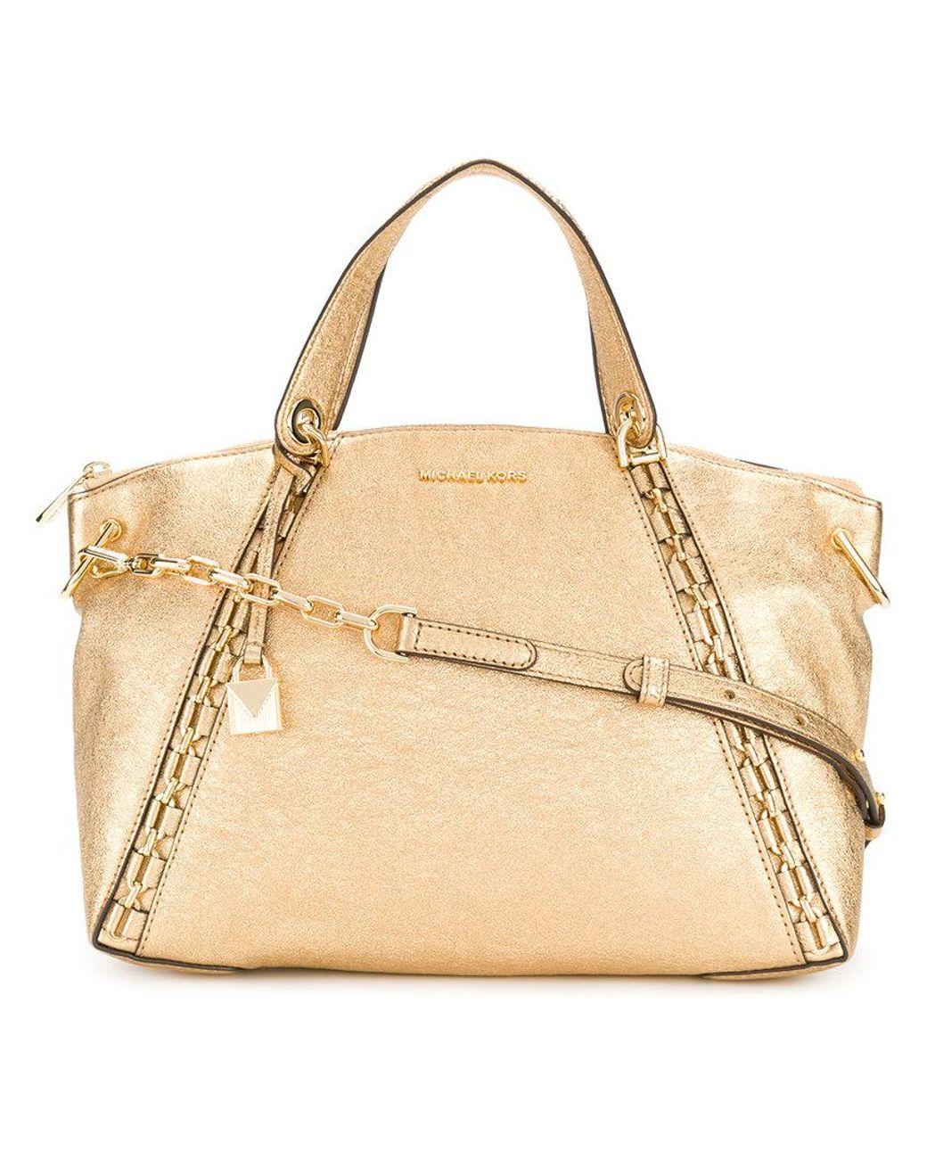 Золотые женские сумки Michael Kors Майкл Корс, купить