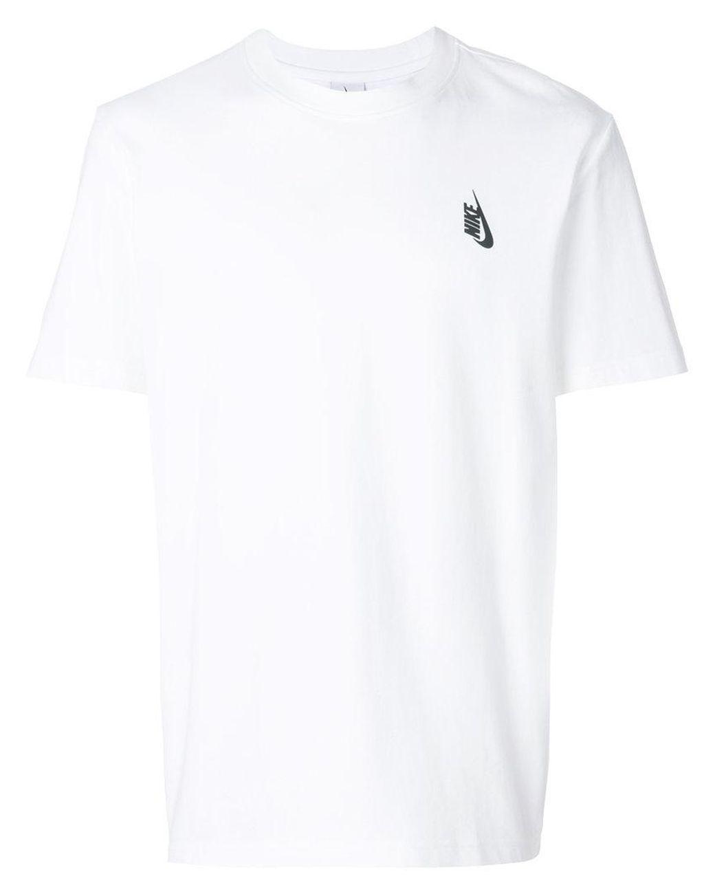 db8e69b24 Lyst - Nike Logo Print T-shirt in White for Men