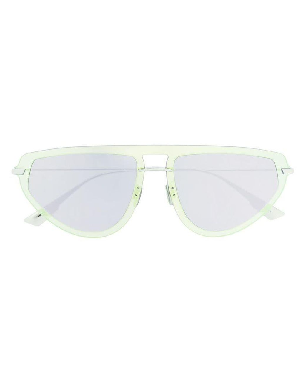 d2532a0385e67 Dior Round Tinted Sunglasses in Blue - Lyst