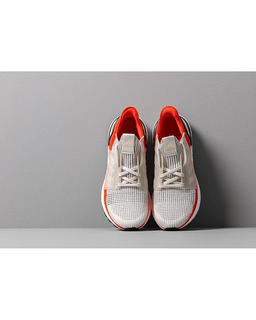 253e8a74f Lyst - adidas Originals Adidas Ultraboost 19 Raw White  Ftw White  Active  Orange in White for Men