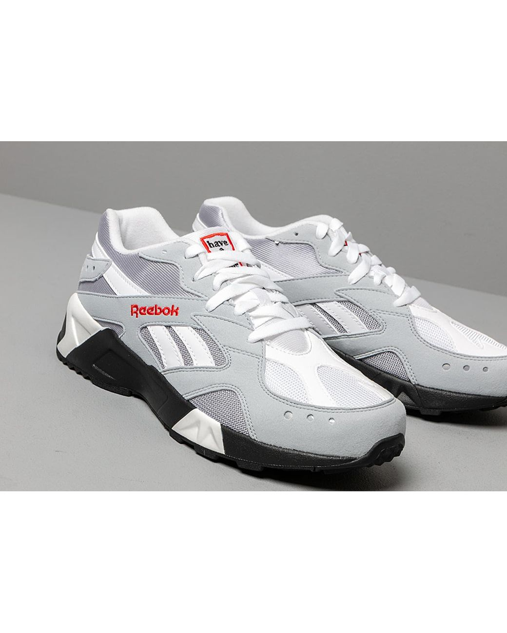 44e2e137b86 Lyst - Reebok Reebok X Have A Good Time Aztrek Cool Shadow  Cold Grey  White  in Gray