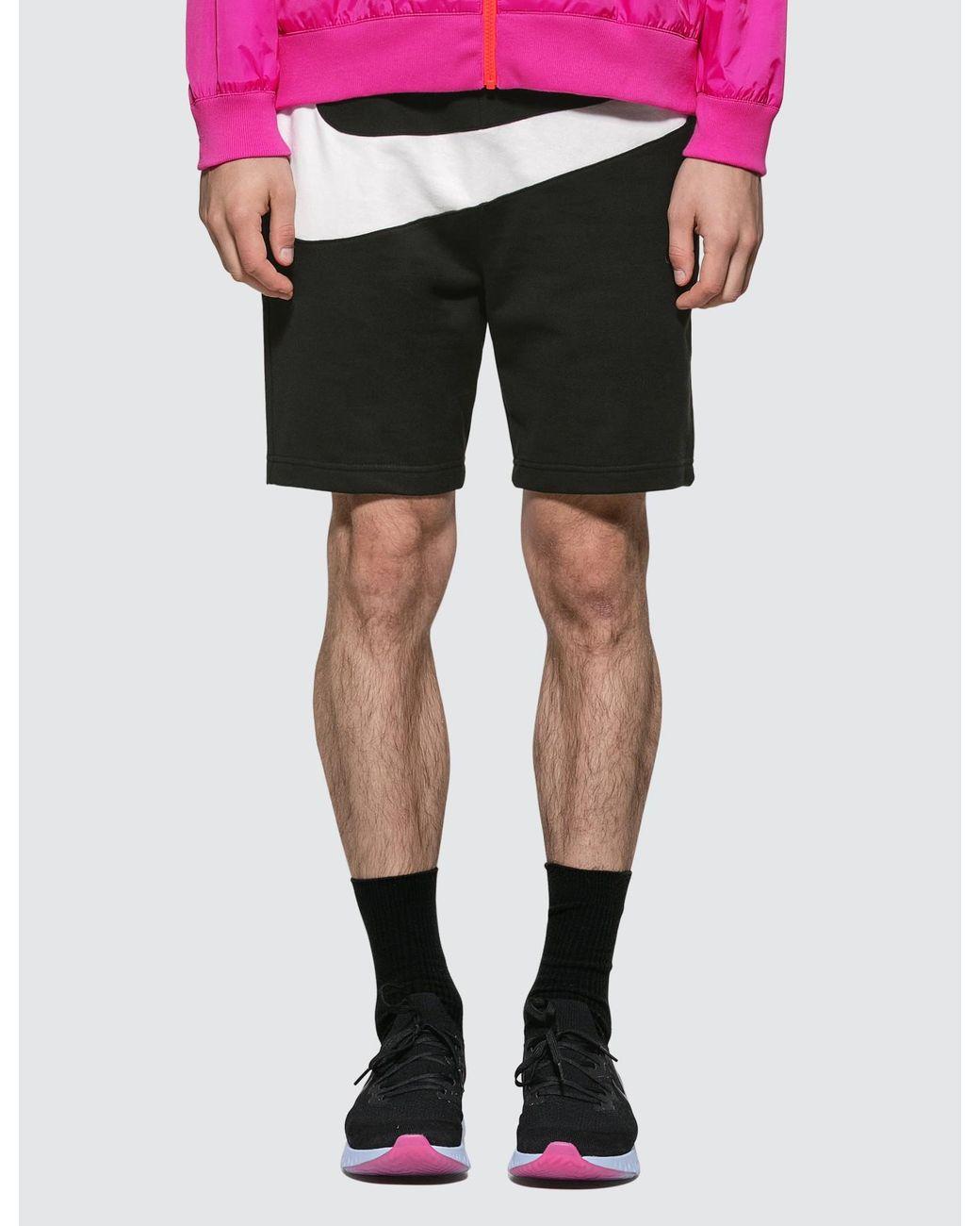 b56ff2bdec7 Lyst - Nike French Terry Men's Shorts in Black for Men