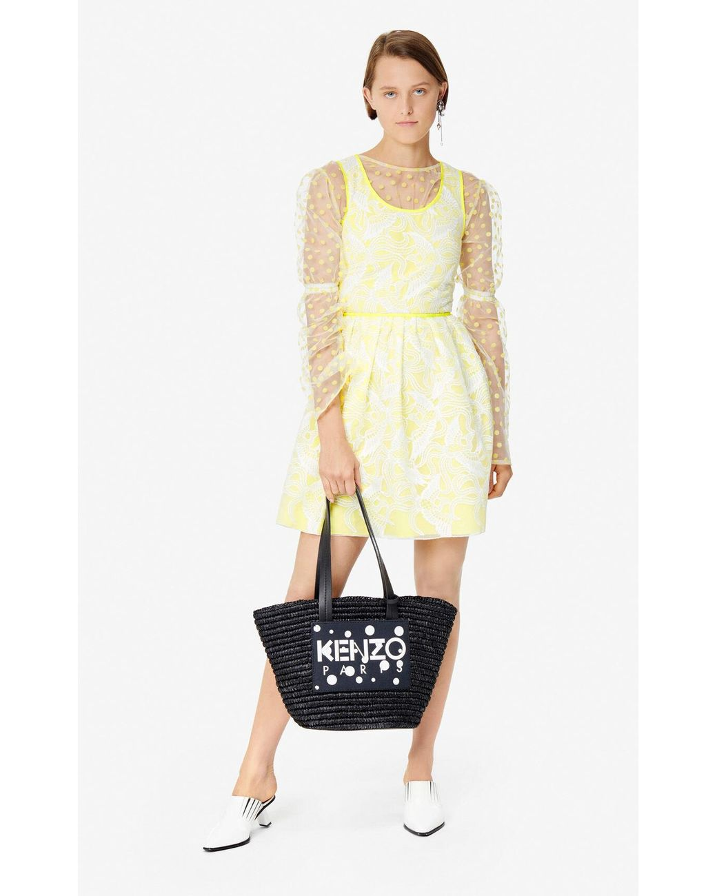 fd9d54983b KENZO 'dots' Summer Basket 'high Summer Capsule Collection' Black in ...