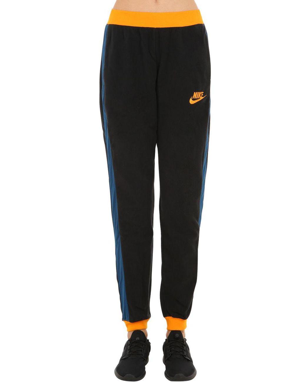 c80c29dcc8d8 Lyst - Nike Nsw Pant Polar Fleece Sweatpants in Black