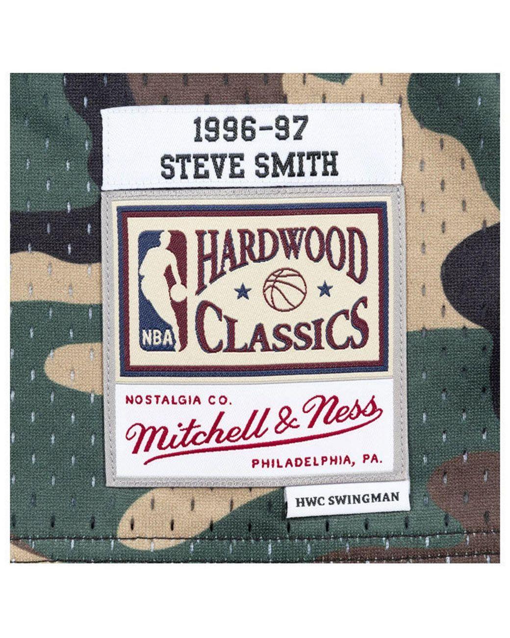 23f17d87760 Mitchell   Ness Steve Smith Atlanta Hawks Woodland Camo Swingman Jersey for  Men - Lyst