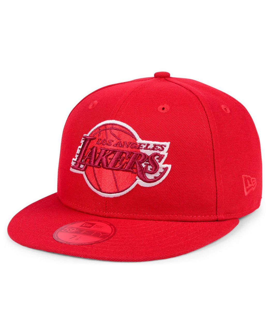 more photos 63794 bada8 KTZ Los Angeles Lakers Color Prism Pack 59fifty Fitted Cap in Red for Men -  Lyst