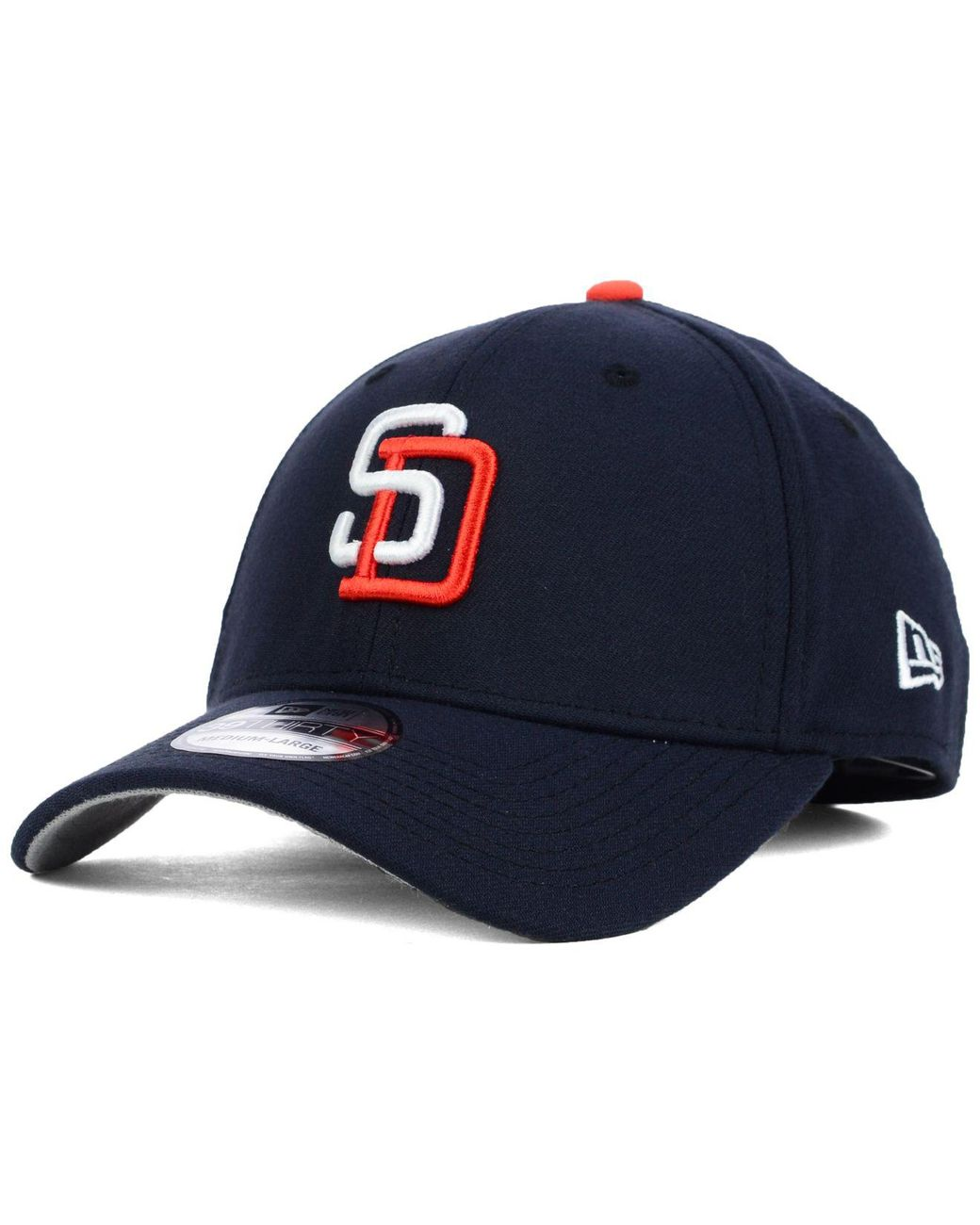 finest selection 6ccb6 ce1e5 KTZ San Diego Padres Core Classic 39thirty Cap in Blue for Men - Lyst
