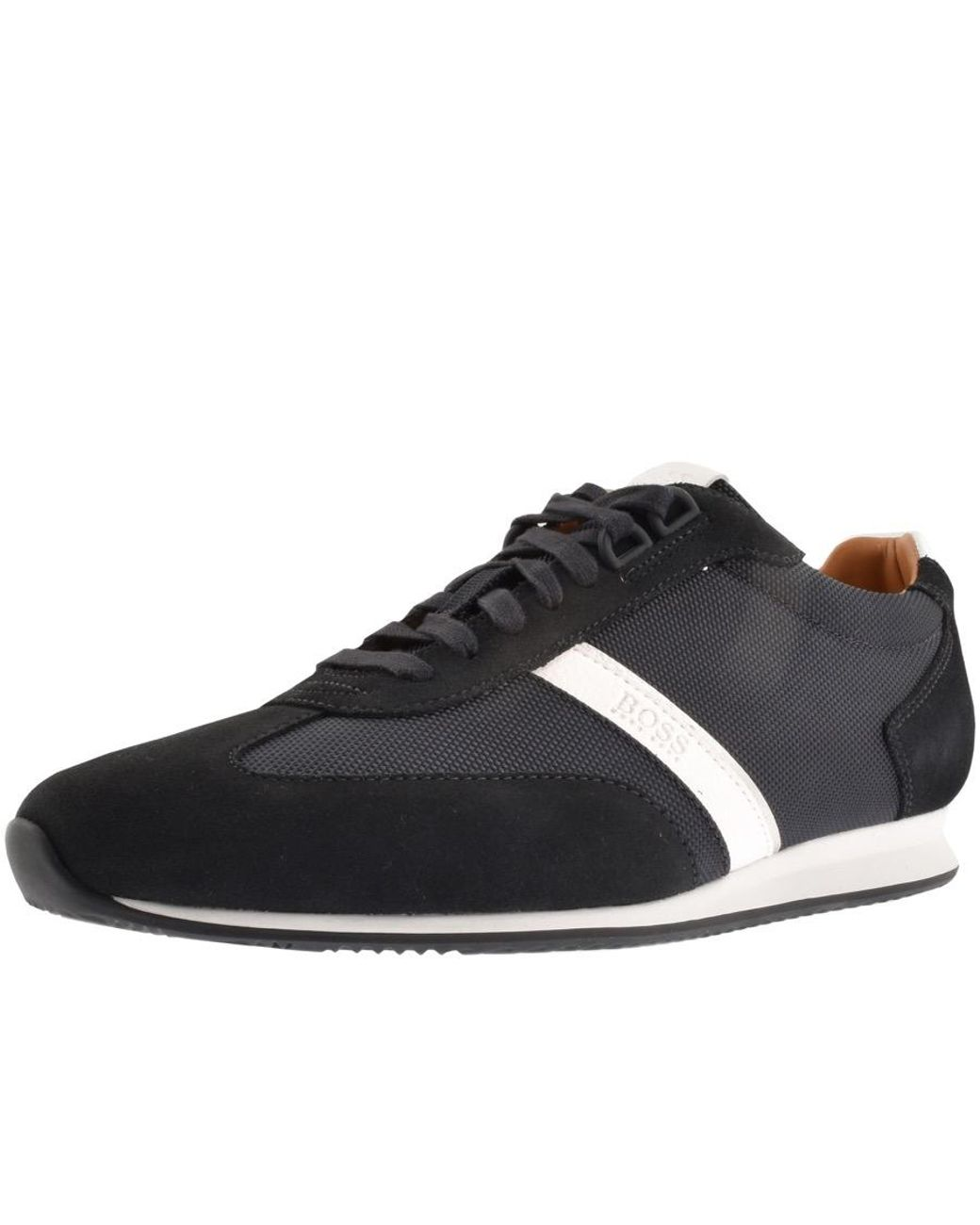 fdf51c99030 BOSS by Hugo Boss Orland Lowp Trainers Navy in Blue for Men - Lyst