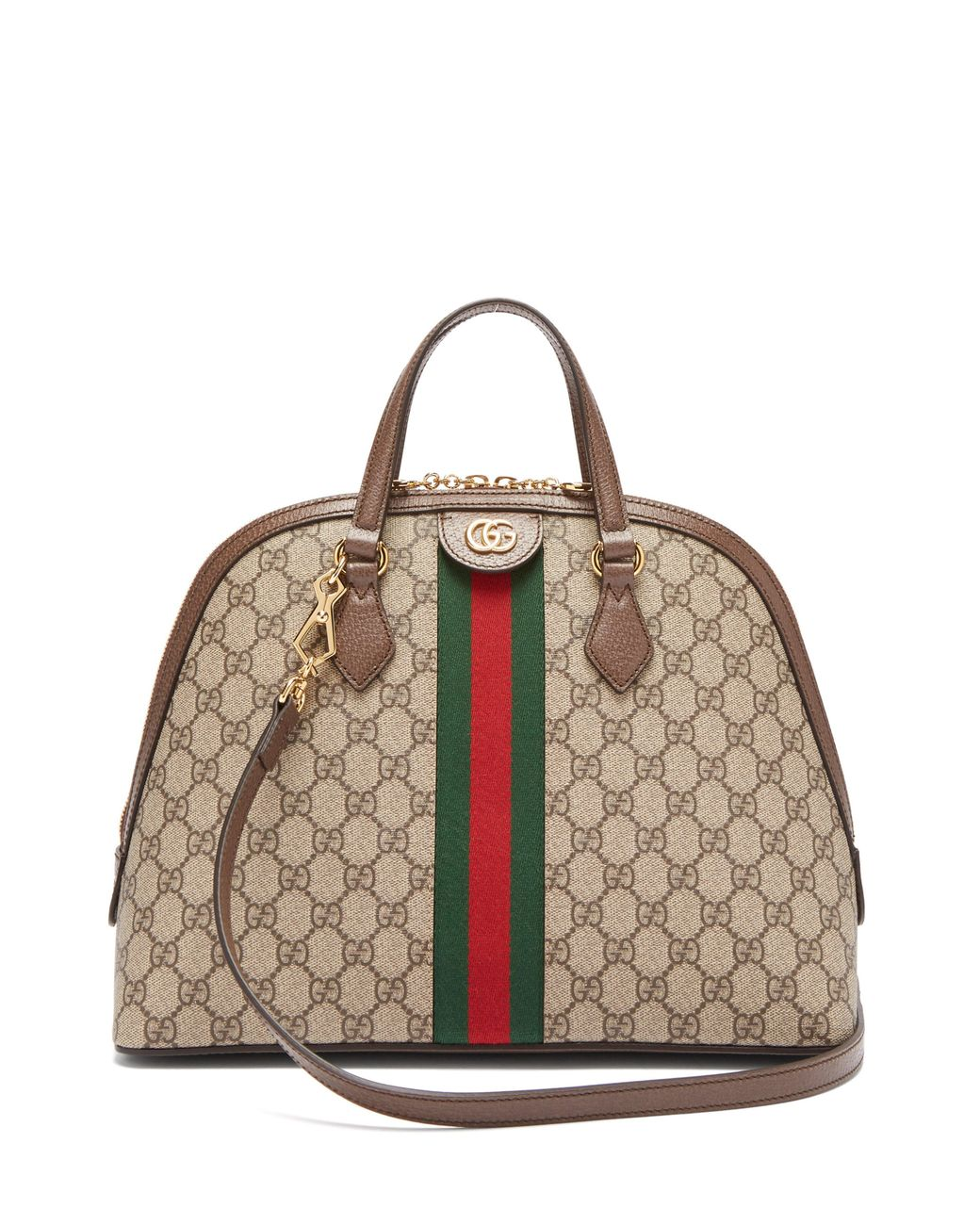 7cf8bf9d9 Gucci Ophidia Gg Supreme Tote Bag - Lyst